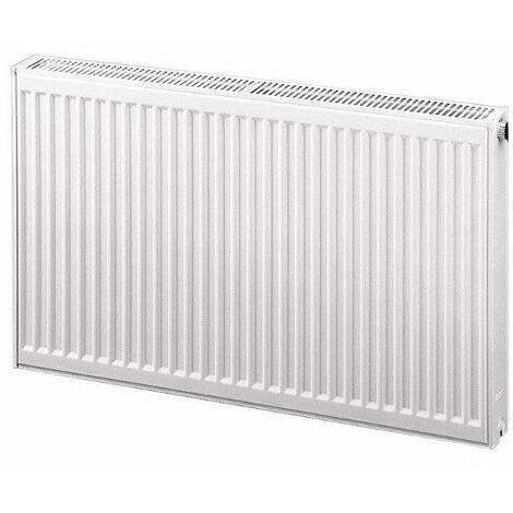 Radiateur eau chaude profilé compact Therm-x2 - Profil-K type 12 - 492W - Blanc