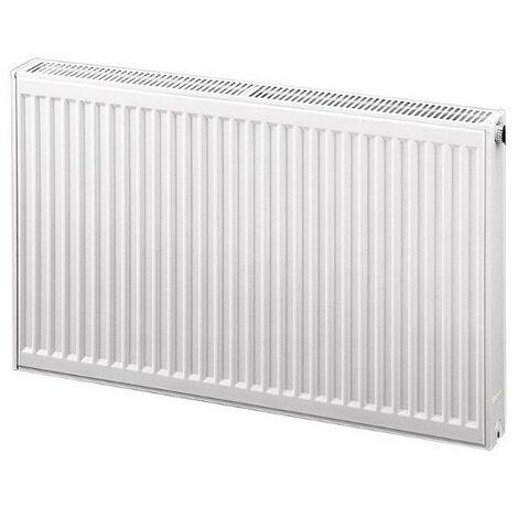 Radiateur eau chaude profilé compact Therm-x2 - Profil-K type 12 - 590W - Blanc