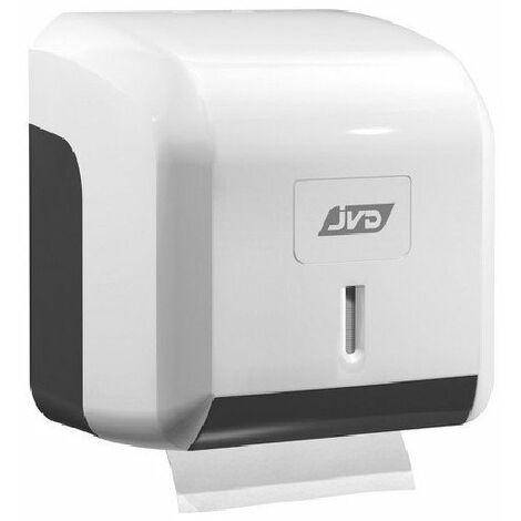 Distributeur de papier hygiénique Cleanline Mini - Manuel - sécurisé - Feuille ou rouleau - Blanc