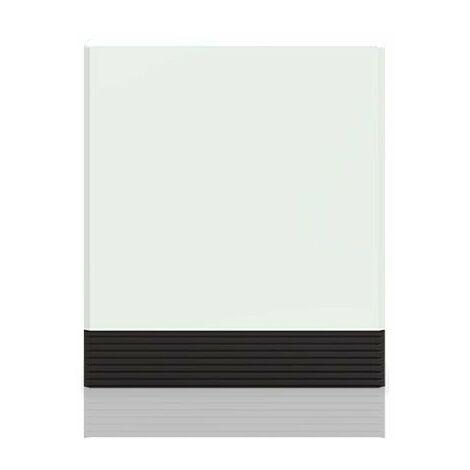 Radiateur accumulateur Dynatherm - Série basse - 6000W - Blanc