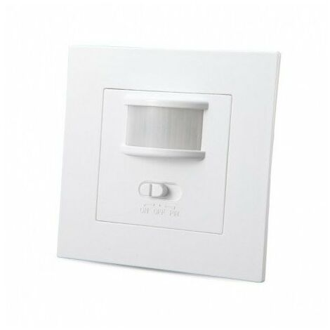 Interrupteur automatique LED infrarouge - 160° - 200W - on/off - Blanc