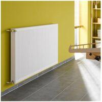 Radiateur eau chaude profilé compact Therm-x2 - Profil-K type 12 - 862W - Blanc