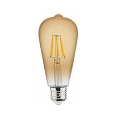 Bombilla LED Filamento Vintage E27 6W