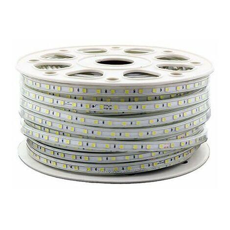 Tira de LED 220VAC SMD5050 14W/m 60LED/m 6000K 50 metros