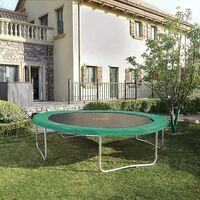 Trampolin Randabdeckung Grün 30cm Breit Ø305cm 100% UV-beständig Reißfest Federabdeckung Randschutz STP10GN - Grün