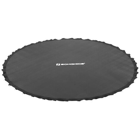 Tapis de Saut pour Trampoline, pièce de Rechange, Convient pour Un Trampoline de diamètre de 244cm, Noir STB8BK - Noir