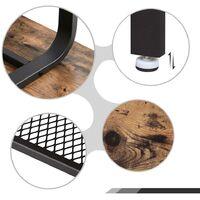Table basse 110 x 60 x 45 cm L x l x H vintage bout de canapé table de salon LCT10X