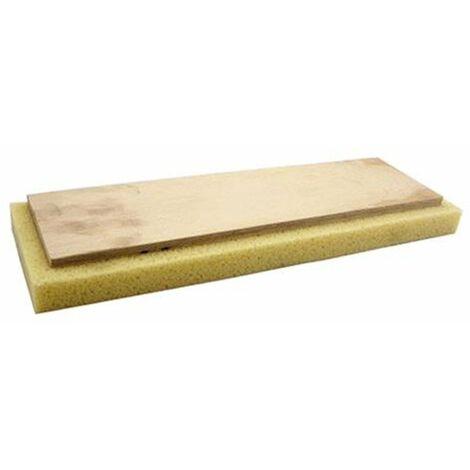Ricambio spugna per frattone 13x42 Raimondi supporto in legno