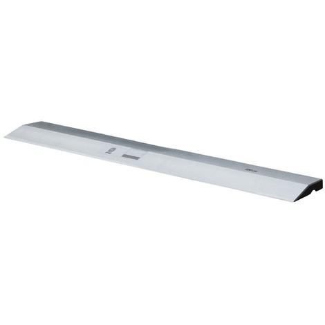 Règle à lisser aluminium profil trapèze | 180 cm