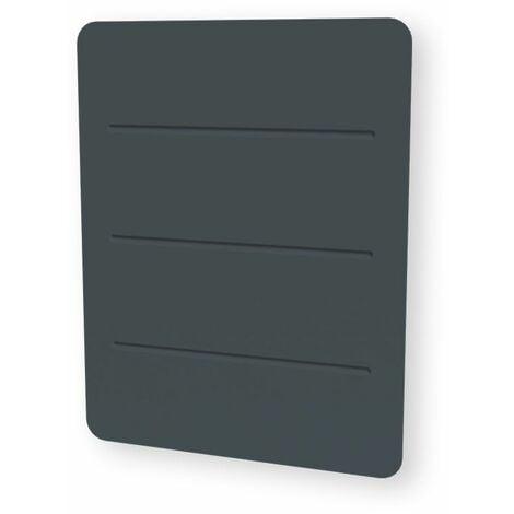 Carrera radiateur à céramique + film gris anthracite 1000w Commande tactile - Gris anthracite
