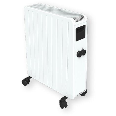 Carrera radiateur bain d'huile sec 2000W - Blanc