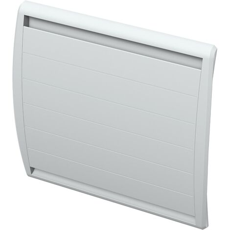 Carrera radiateur à inertie Double Coeur Fonte LCD 1000W - Blanc