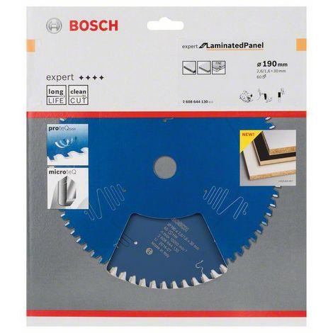 BOSCH 2608644130 Sierra circular Expert Laminated Panel 190x30x2,6, 60