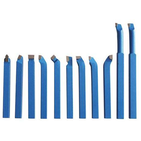 OPTIMUM 3441601 Juego de cuchilla HM 8mm - 11 unidades