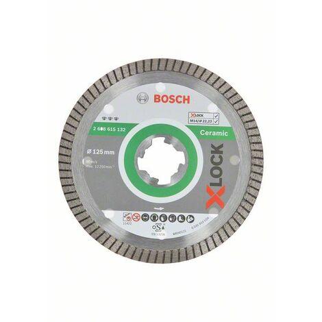 BOSCH 2608615132 Disco de diamante Best for Ceramic ExtraClean Turbo X-LOCK
