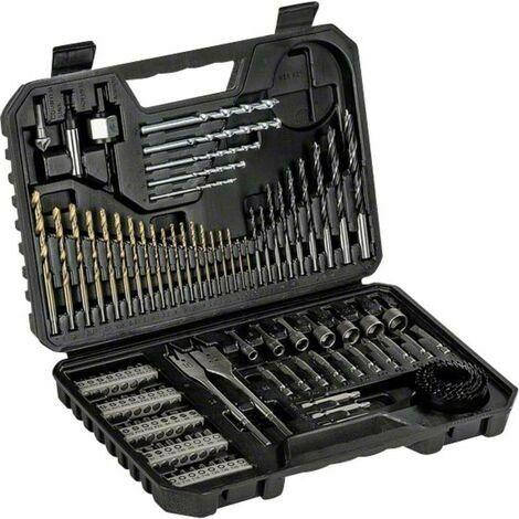 BOSCH Set brocas-puntas atornillar 103 uds Titanium 2607017367