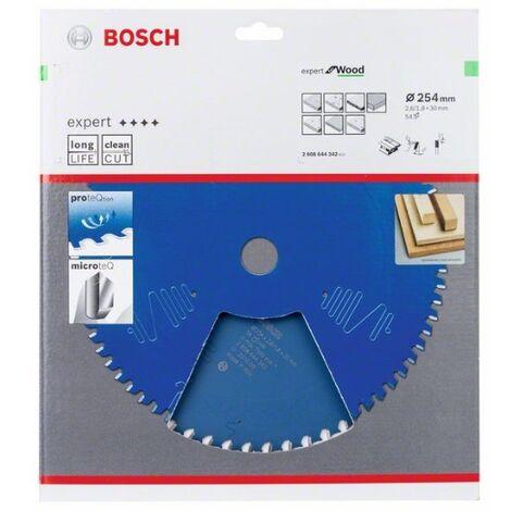 BOSCH 2608644342 Disco de sierra CSB Expert madera: 254x30x54D pos