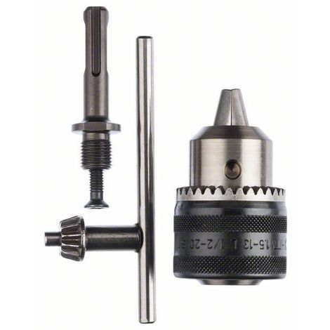 BOSCH 2607000982 Adaptador SDS-plus con portabrocas