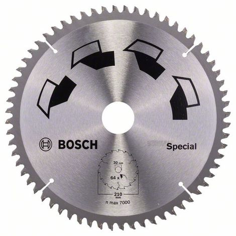 BOSCH 2609256893 Hoja de sierra circular SPECIAL Ø 210 mm