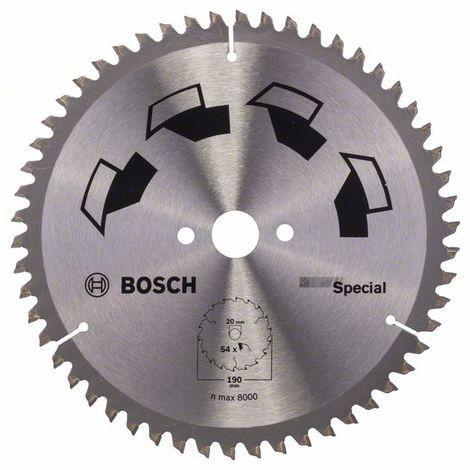 BOSCH 2609256891 Hoja de sierra circular SPECIAL Ø 190 mm