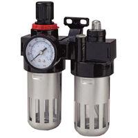 Regulador presi/ón con filtro man/ómetro 20,67 mm separador agua 1//2 rosca hembra