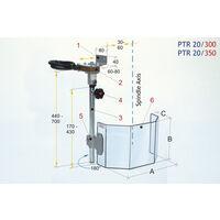OPTIMUM 3020350 PROTECTOR TALADRO PTR-20/350