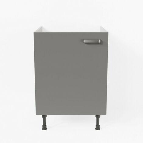 Meuble sous évier - 60 cm - Macadam
