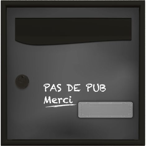 STYLIS SIMPLE FACE - PAS DE PUB CRAIE - Gris
