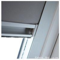 Store Enrouleur Occultant Cadre Alu compatible VELUX® - Bleu foncé - 61 x 94/116cm - M06/M08 - Bleu foncé