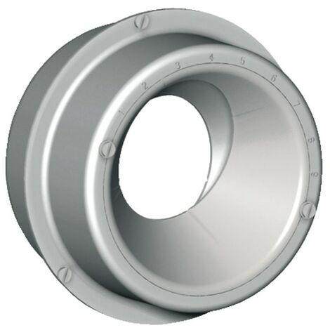 Bouche VMC gaz aluminium ARF Ø125mm - ANJOS : 2730