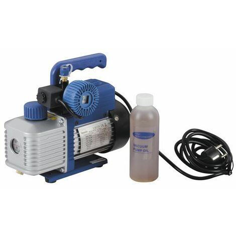 Pompe à vide 2 étages R32 42l/min 15µ électrovanne - GALAXAIR : 2VP-42-EV-R32