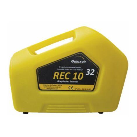 Groupe de transfert R32 26.8kg/h - GALAXAIR : REC-10 R32-TWIN INVERTER