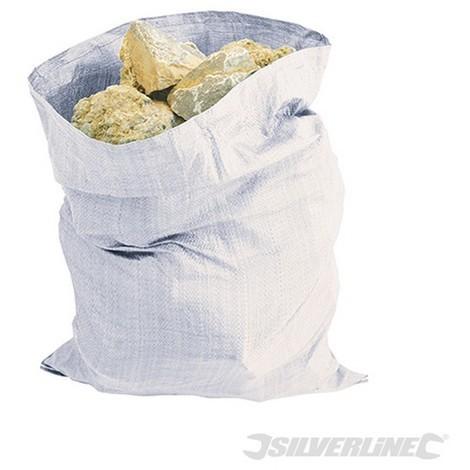 Sacos de escombros reforzados. 5 pzas (900 x 600 mm)