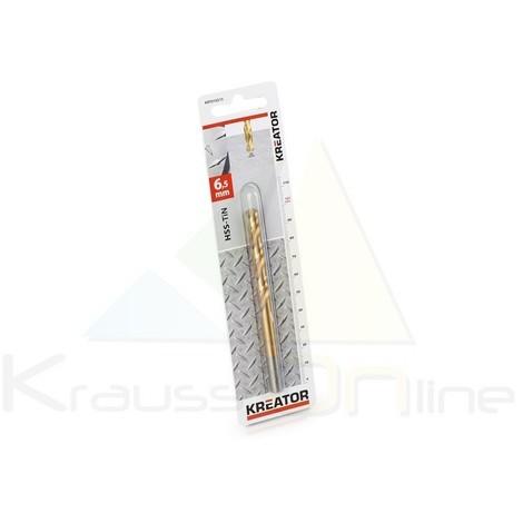 Broca/metal, hss-tin 6,5x101 (KRT010215)