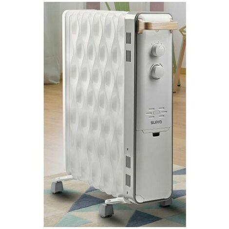 SUPRA RADIATEUR BAIN D'HUILE Thermostat Hors-gel 2500W