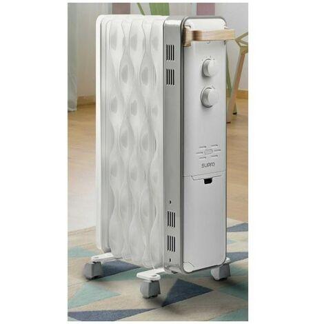 SUPRA RADIATEUR BAIN D'HUILE - 3 allures -  Thermostat - Hors-gel