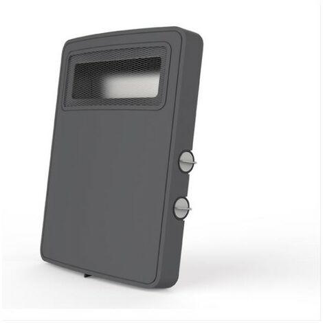 SUPRA RADIATEUR SOUFFLANT MOBILE - Gris - 2 allures - Thermostat - Ventilatio