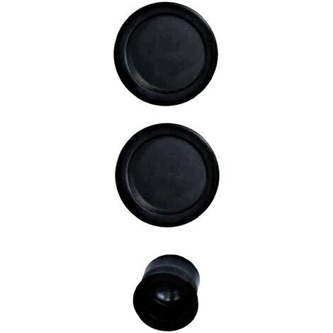 Serrure A Galandage KLOSE besser / Doigt Et Coupelles noir.
