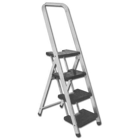 MIBRICOTIENDA escaleras aluminio reforz.sifer 4000 4 peld.anchos 03002 en131