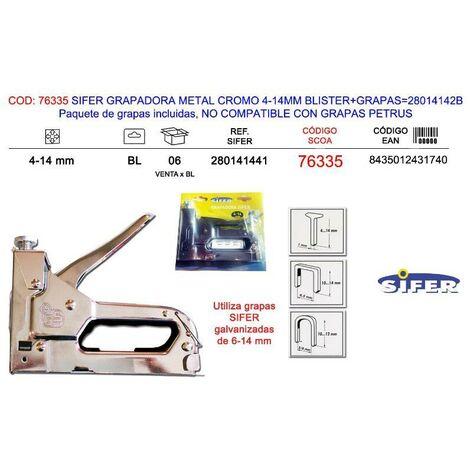 siesa Grapadora Metalica Grapa 53 Pro-530