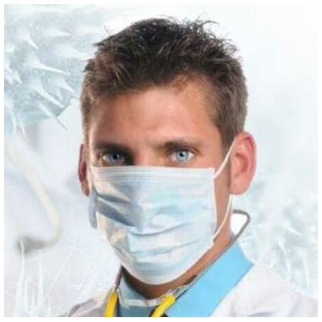 BLUNGI mascarillas quirurgicas bolsa 10
