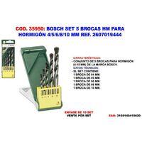 Set Piezas pack de 10 unidades Negro laminada 8 mm Ruko 201080 Broca helicoidal DIN 338 tipo N HSS