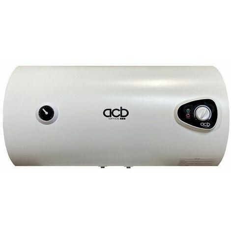 Termo Calentador Acumulador de agua eléctrico ACB Horizontal 80 Litros