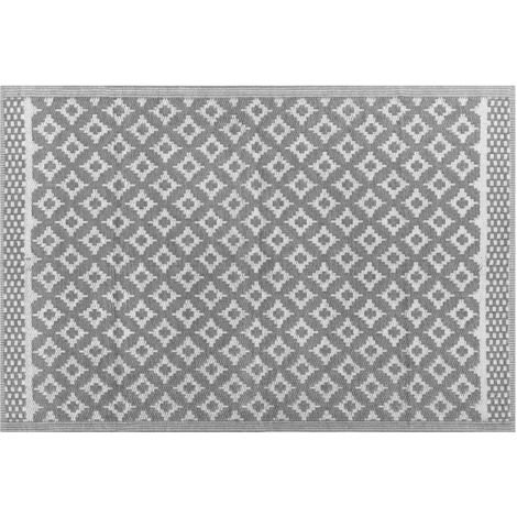 Outdoor Area Rug 120 x 180 cm Grey THANE