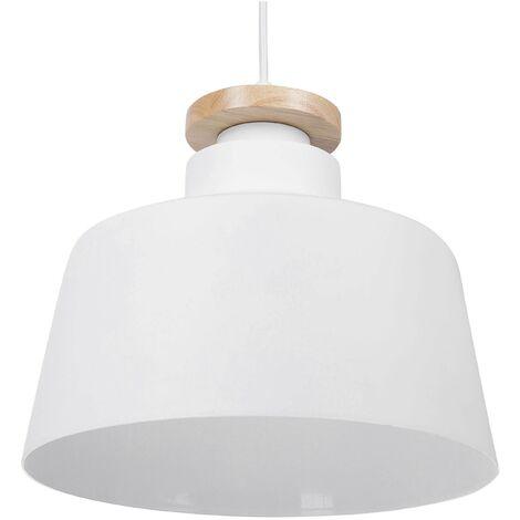 Modern Industrial Aluminium Ceiling Lamp Kitchen Pendant Light White Danube