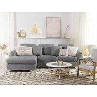 Corner Sofa L-Shaped Right Hand Modern Upholstered Living Room Oslo
