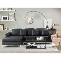 Corner Sofa L-Shaped Right Hand Modern Leather Living Room Oslo