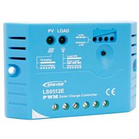 Kit panneau solaire 50W Mono 12V av régulateur 5A et batterie