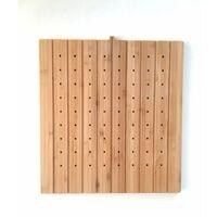 CAREA - Planche à découper / égouttoir bambou pour éviers Éole et Katla
