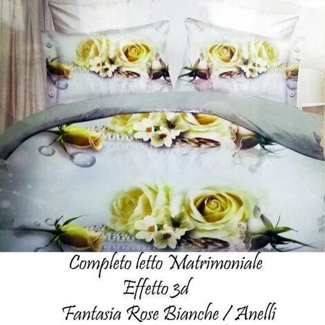 Completo Letto Matrimoniale Microfibra 3d Lenzuola Sopra Sotto Copricuscino Bedding Seedsbazar Home Garden